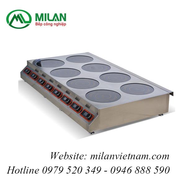 Bếp từ công nghiệp mỏng 8 mặt có hẹn giờ 3.5KW HZD-3.5KWX8-PX