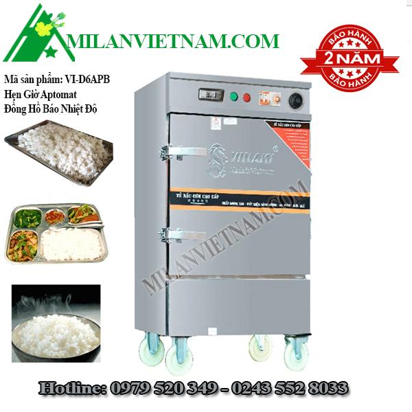 Tủ nấu cơm điện 6 khay Vinaki VI-D6APB