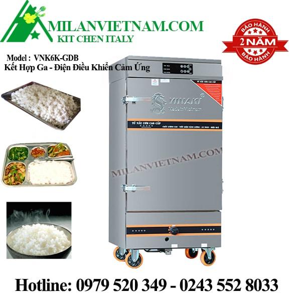 Tủ nấu cơm 6 khay Vinaki VNK6K-GDB