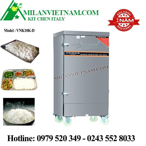 Tủ nấu cơm 10 khay bằng điện Vinaki VNK10K-D
