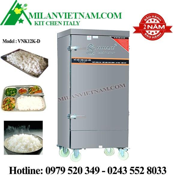 Tủ nấu cơm điện 12 khay Vinaki VNK12K-D