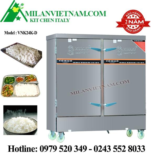 Tủ nấu cơm điện 24 khay Vinaki VNK24K-D