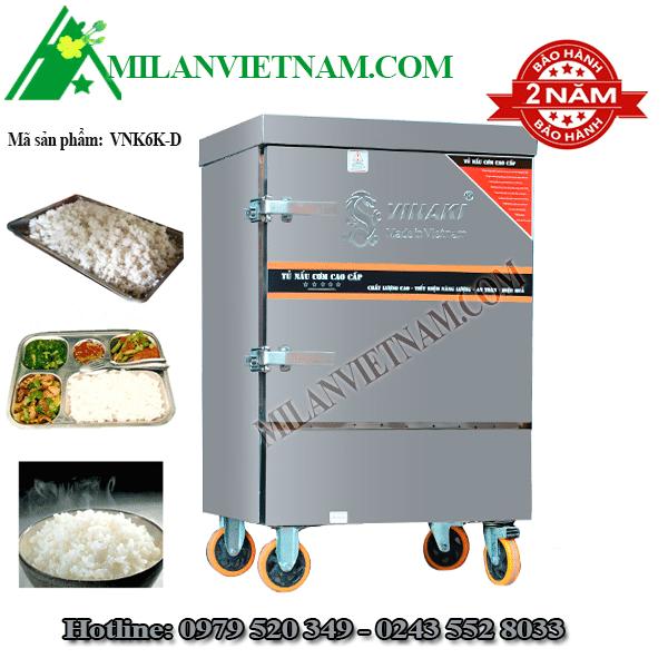 Tủ nấu nơm điện 6 khay Vinaki VNK6K-D