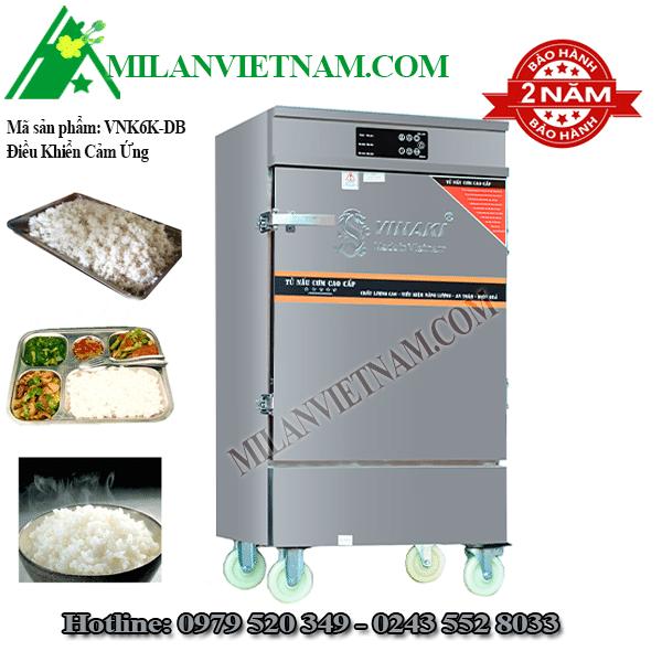 Tủ nấu cơm điện 6 khay Vinaki VNK6K-DB