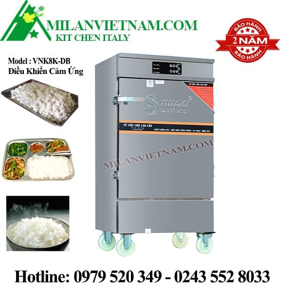 Tủ nấu cơm điện 8 khay Vinaki VNK8K-DB