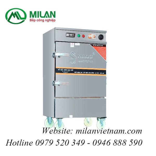 Tủ nấu cơm Vinaki dùng điện hẹn giờ và chế độ ủ 8 khay
