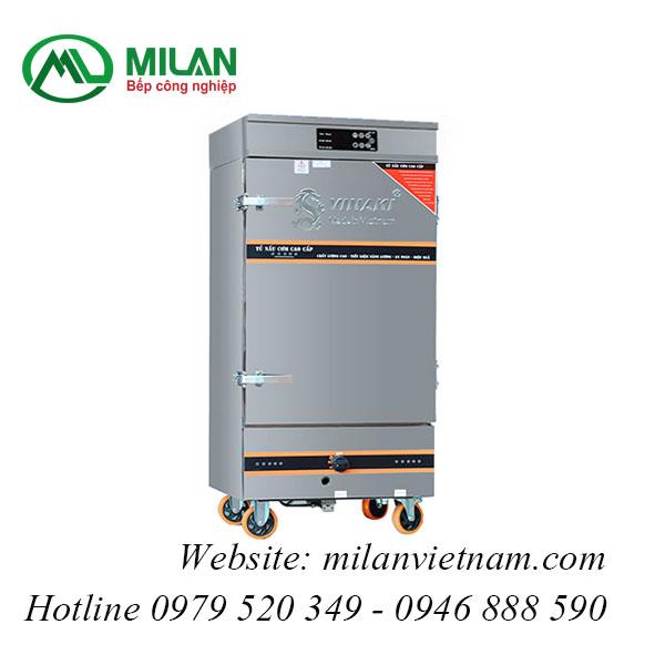 Tủ nấu cơm 6 khay kết hợp Ga – Điện VNK6K-GD