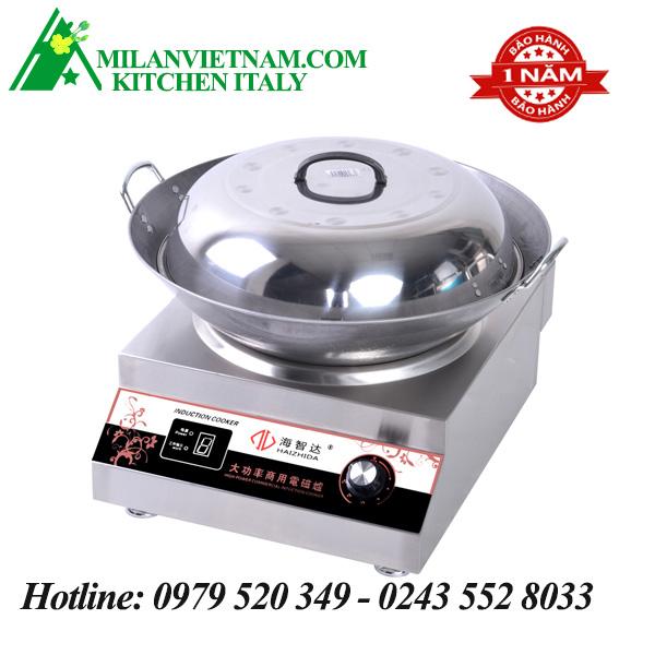 Bếp từ công nghiệp mặt lõm 3.5KW HZD-3.5KW-AX
