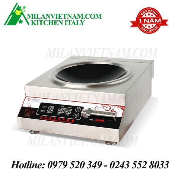 Bếp từ công nghiệp mặt lõm có hẹn giờ 5KW HZD-5KW-ACS