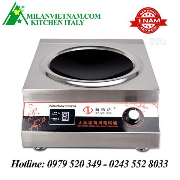 Bếp từ công nghiệp mặt lõm 5KW HZD-5KW-AX
