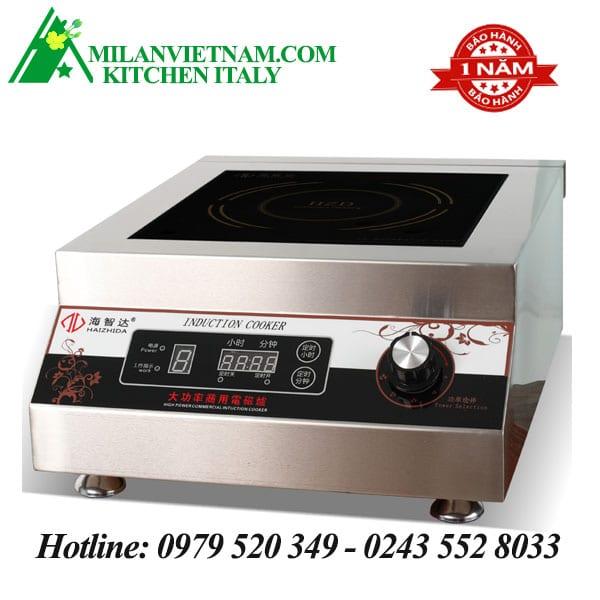 Bếp từ công nghiệp phẳng có hẹn giờ 5KW HZD-5KW-PXS