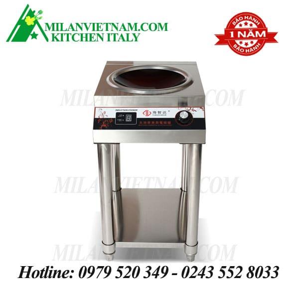 Bếp từ công nghiệp có giá hẹn giờ 5KW HXD-5KWA-AXLDY