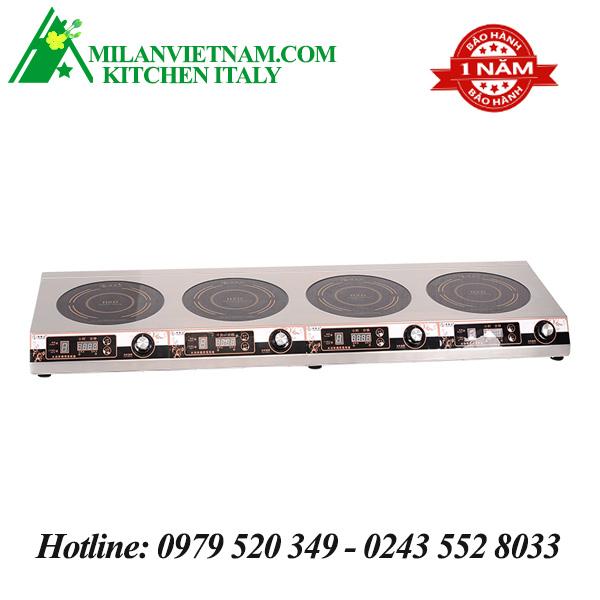Bếp từ công nghiệp mỏng 4 mặt có hẹn giờ 3.5KW HZD-3.5KW-4TXK-P