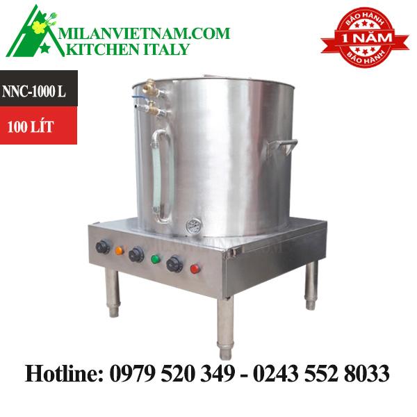 Nồi nấu cháo công nghiệp inox100 lít NNC-100L