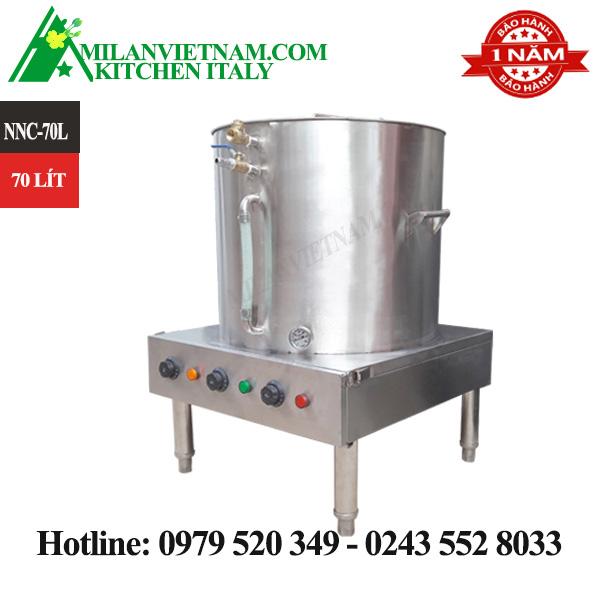 Nồi nấu cháo công nghiệp inox 70 lít NNC-70L