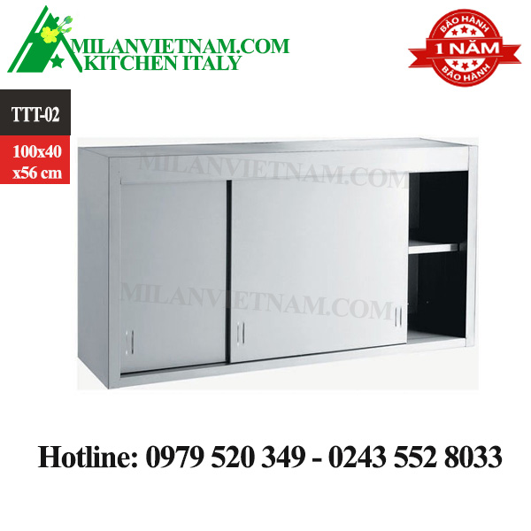 TỦ TREO TƯỜNG INOX 1000X400X650 MM