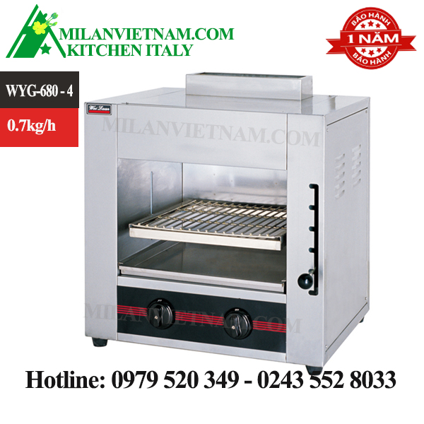 Lò nướng gas đa năng WYG-680-4