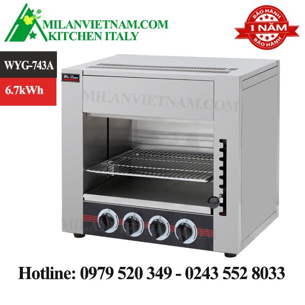 Lò nướng gas đa năng WYG-743A