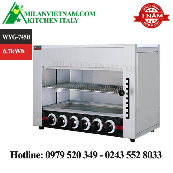 Lò nướng đa năng gas WYG-745B