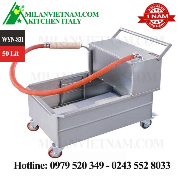 Xe lọc dầu ăn – máy lọc dầu công nghiệp WYN-831