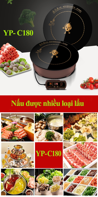 Bếp từ nhà hàng lẩu YP-C180