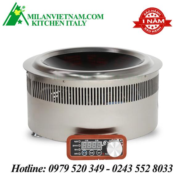 Bếp từ công nghiệp lõm đặt âm 3.5KW HZD-3.5KW-XKAY
