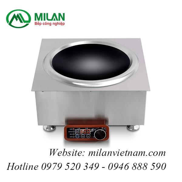Bếp từ công nghiệp vuông lắp âm mặt lõm 5KW HZD 5KW-PAXS