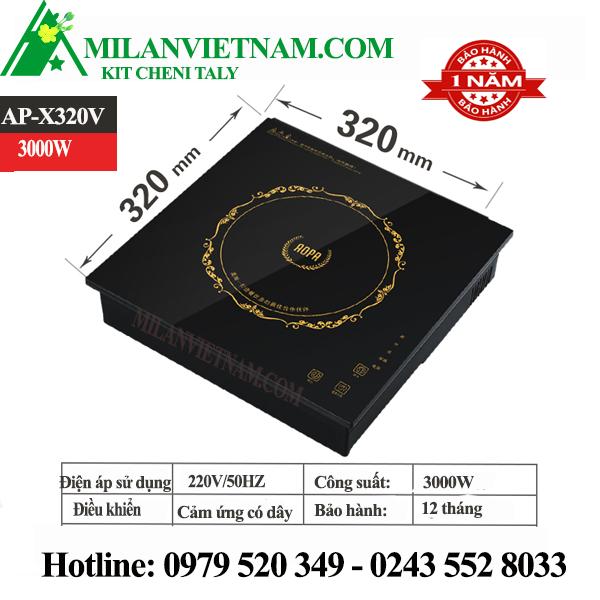 Bếp từ nhà hàng lẩu AOPA 3KW AP-X320V