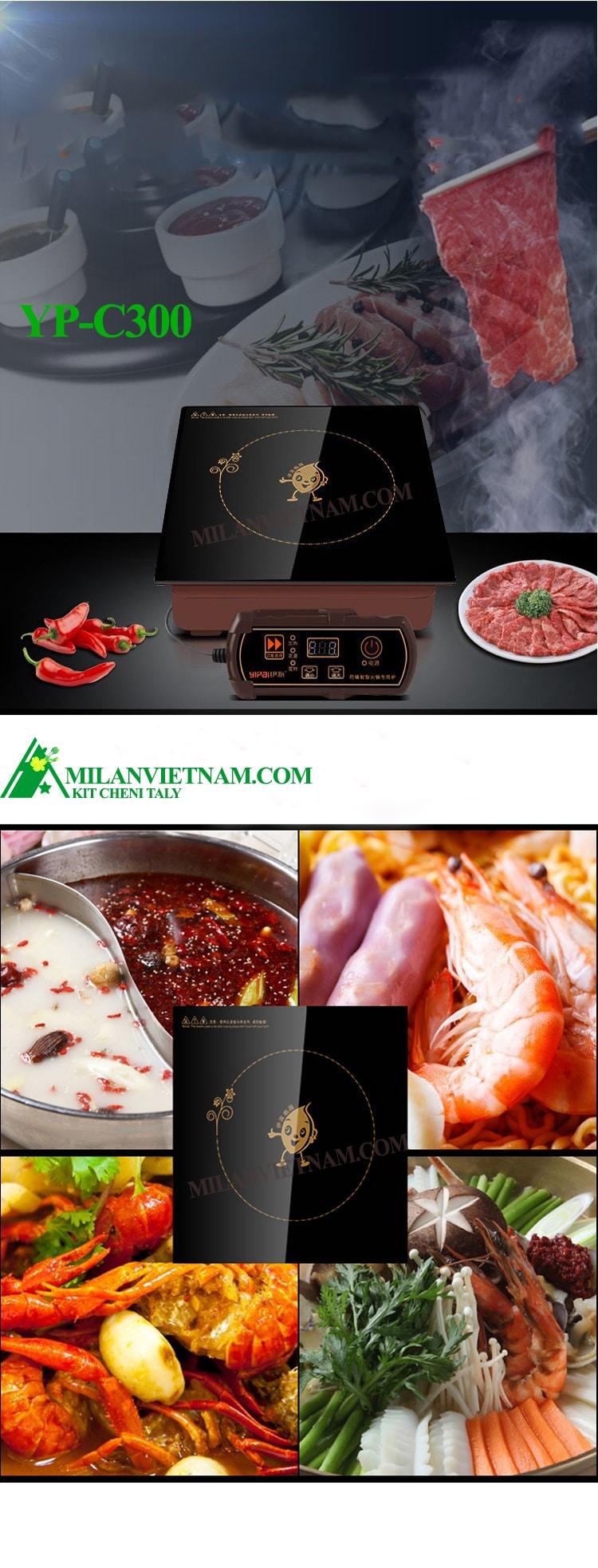 Bếp từ nhà hàng lẩu YP-C300