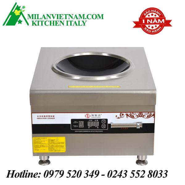 Bếp từ công nghiệp mặt lõm có hẹn giờ 8KW HZD-8KW-ADKC