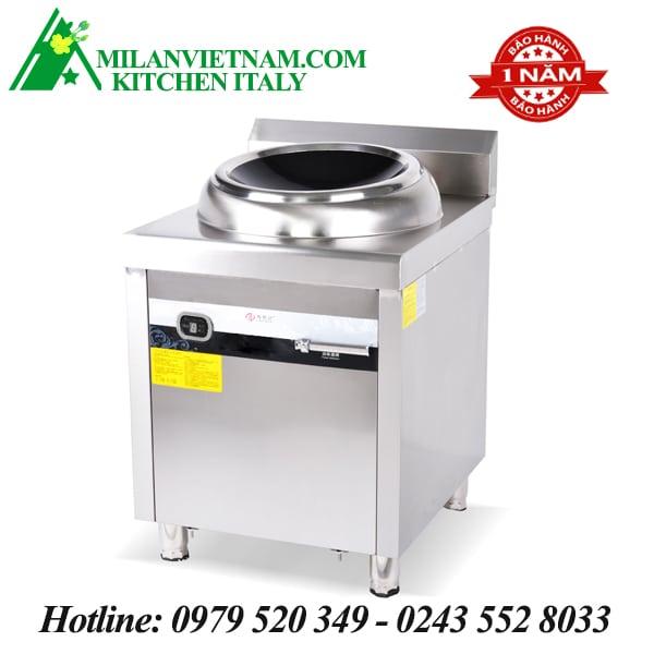 Bếp từ công nghiệp mặt lõm có hẹn giờ 15KW HZD-15KW-ZKLD