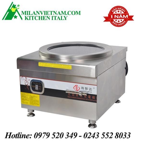 Bếp từ công nghiệp lớn có vòi rửa 8KW HZD-8KW-PDKC