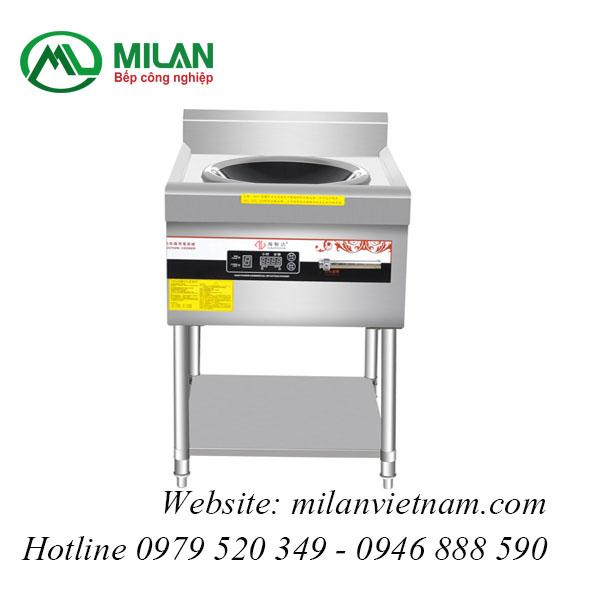 Bếp từ công nghiệp lõm có giá kệ hẹn giờ 8KW HZD-8KW-ASCLX