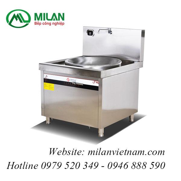 Bếp từ công nghiệp lõm lớn có vòi rửa 25KW HZD-25KW-XDLD800