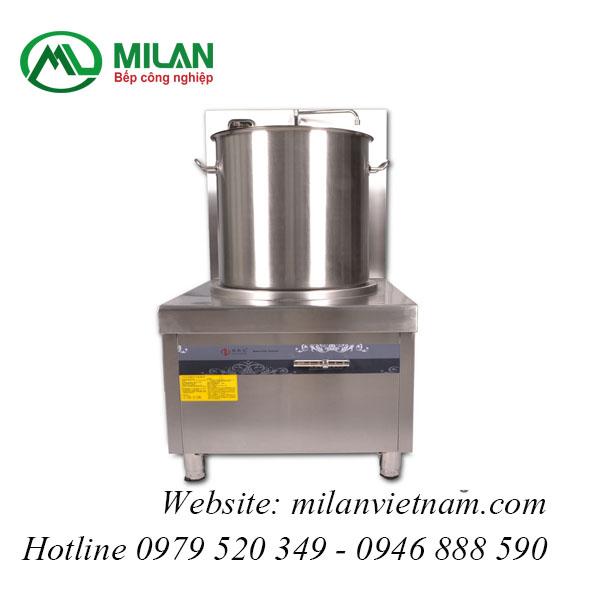 Bếp từ công nghiệp lớn có vòi rửa 12kw HZD-12kw-PDKCL