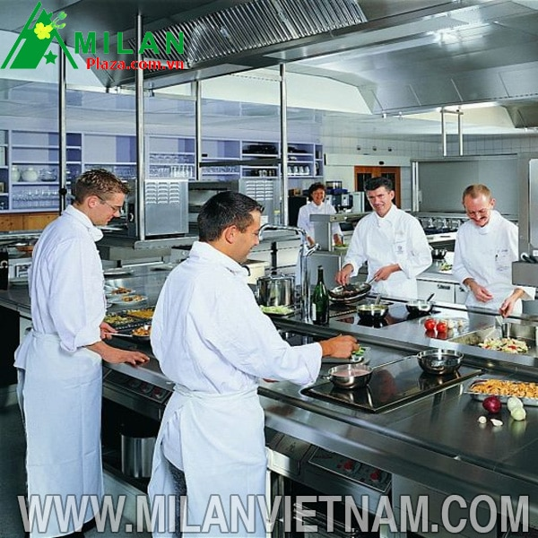 Bếp từ công nghiệp sự lựa chọn hoàn hảo cho các nhà hàng hiện nay