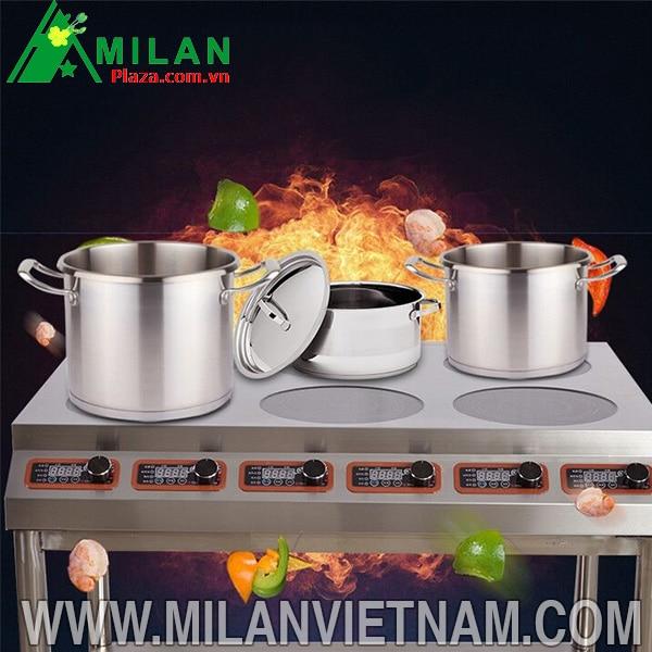 Bếp từ công nghiệp đôi Milan thiết bị đáng để đầu tư