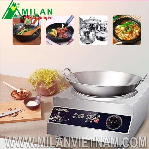 Nên chọn mua bếp điện từ hay bếp từ công nghiệp 8kw