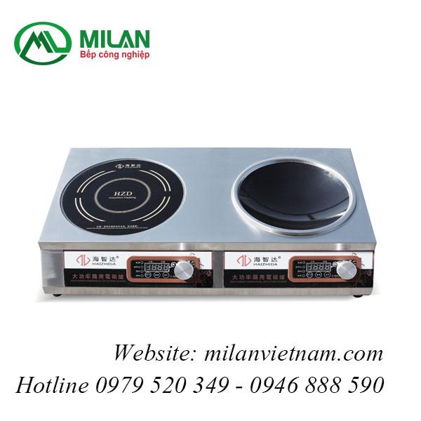 Bếp từ công nghiệp lắp âm 3.5KW HZD-3.5KW-XKPX