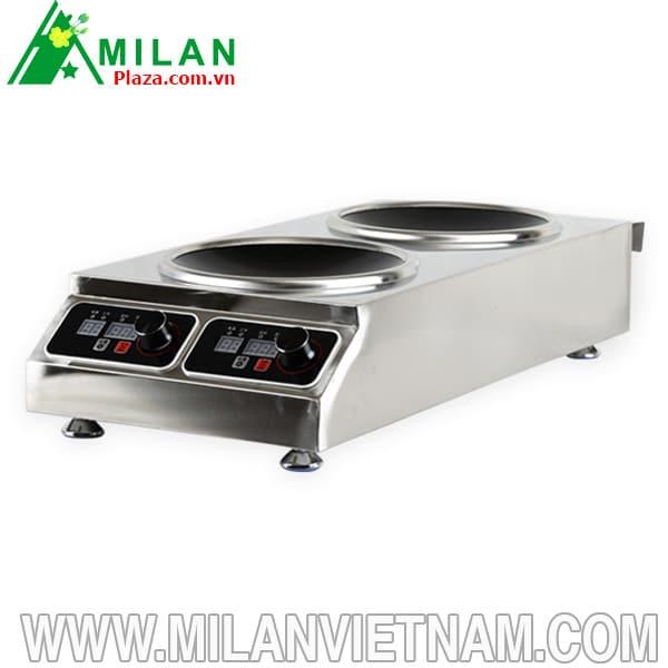 Bếp từ công nghiệp mặt lõm thiết bị được ưa chuộng trong nhà hàng