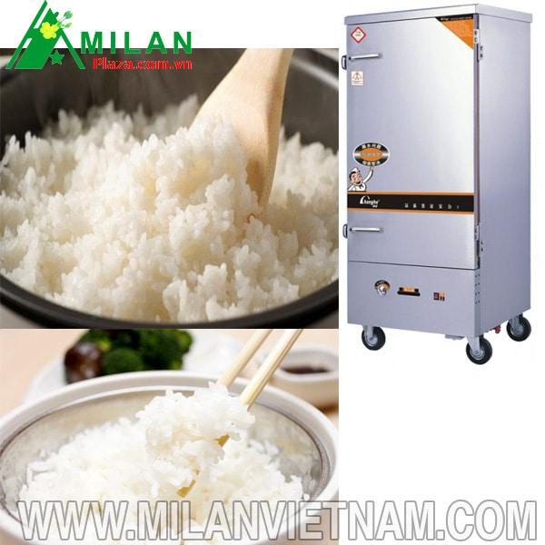 cách nấu cơm bằng tủ công nghiệp