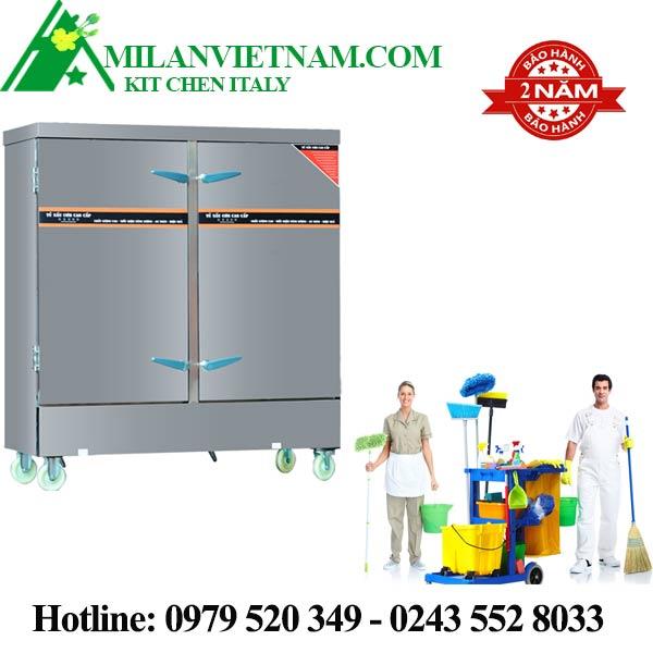 Hướng dẫn vệ sinh tủ nấu cơm 100Kg