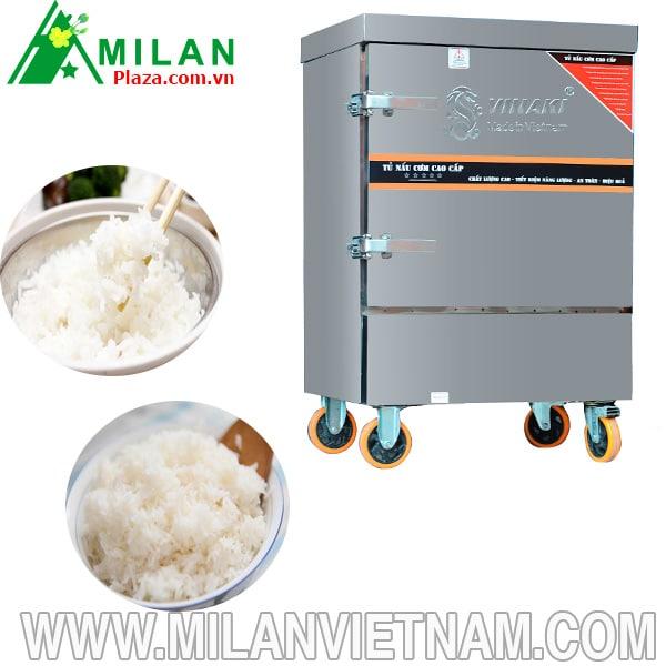 1001 lý do nên mua tủ nấu cơm công nghiệp bằng gas