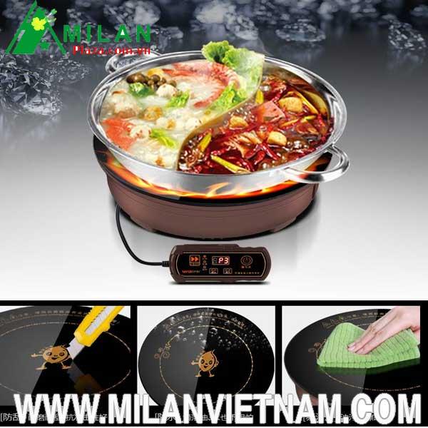 Bếp từ lẩu âm bàn khắc phục được hạn chế gì của bếp truyền thống