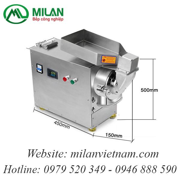 Máy xay thuốc đông y, thuốc bắc DLF-50 (20-25kg/h)