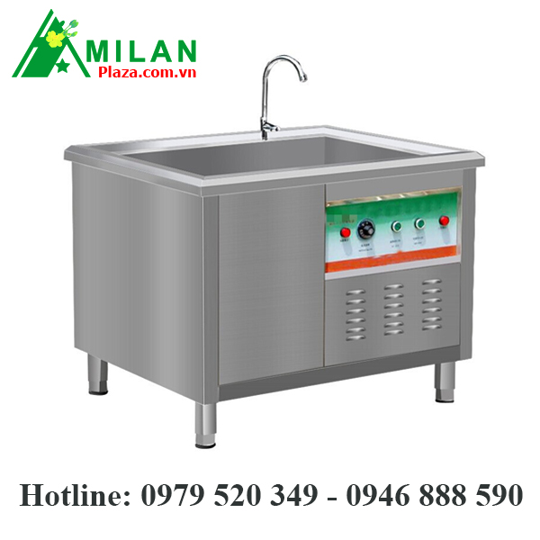 Máy rửa bát siêu âm công nghiệp 120X80X80CM