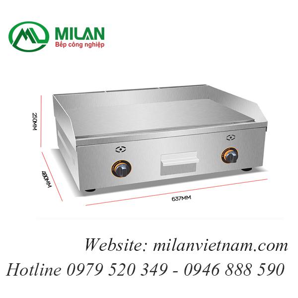 Bếp rán phẳng dùng gas -FY-600R