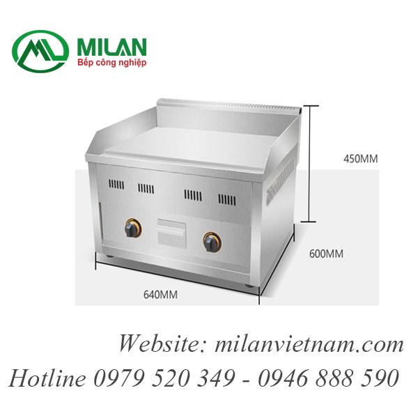 Bếp rán phẳng dùng gas -FY-610R