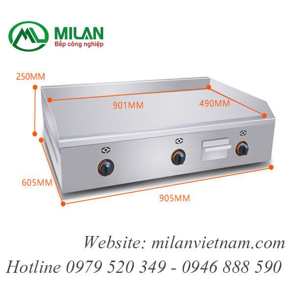 Bếp rán phẳng dùng gas -FY-900R