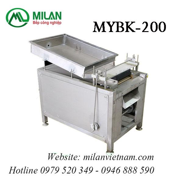 Máy bóc vỏ trứng chim cút MYBK-200